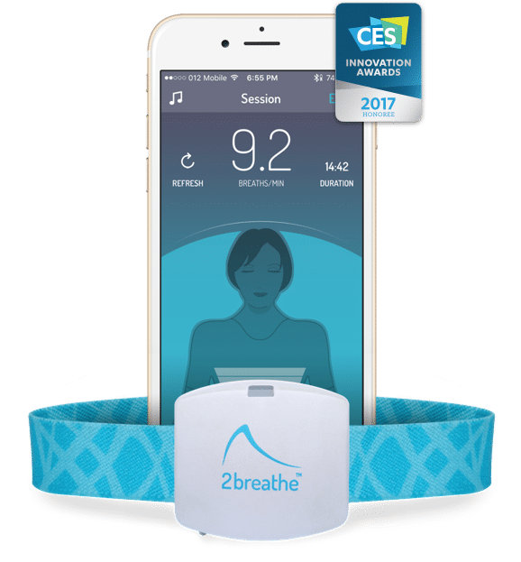 2breathe Wins 2017 CES Innovation Award