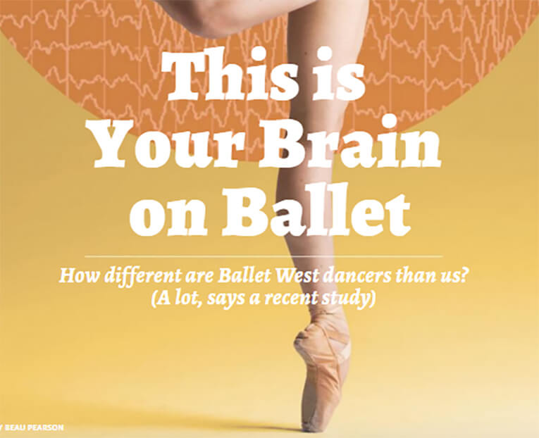 This is your brain on ballet